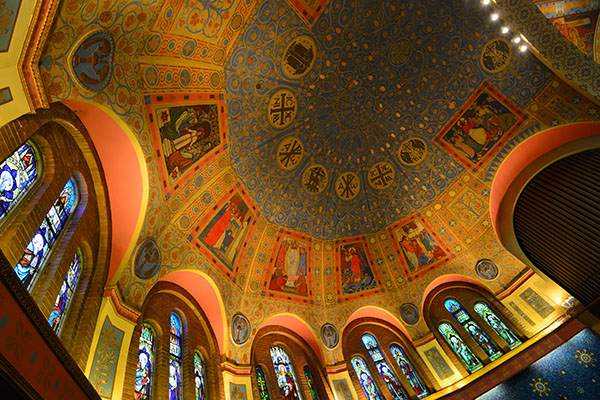 Ceiling of St. Anne's Anglican Church, Toronto