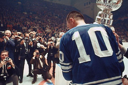 Exh Sport George Armstrong Stanley Cup