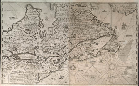 Exh Champlain Eyes Of Na Champlain Map Maker